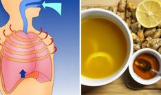 Homemade Cough And Lung Inflammation Recipe: More Powerful Than Any Cough Syrup And Faster Acting – HealthTipsCentral Tea For Cough, Throat Pain, Strep Throat, How To Stop Coughing, Healthy Holistic Living, Cough Syrup, Junk Food, Natural Cures, Natural Healing