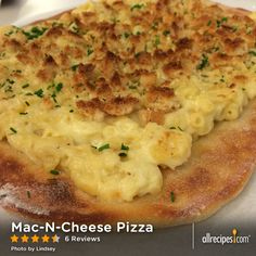 Mac-N-Cheese Pizza | Best pizza ever? We think so!