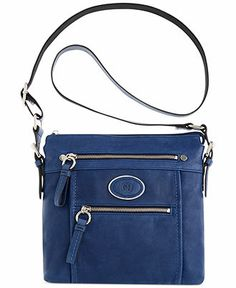 Giani Bernini Handbag Collection Leather North South Crossbody Handbags Accessories Macy S