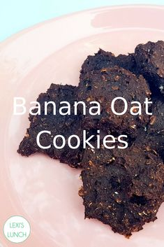 Sometimes the least appetising looking cookie tastes the best 🙂 These are too good not to share! Banana Oat Cookies, Banana Oats, Healthy Cookies, How To Find Out, Sweet Treats, Lunch, Good Things, Healthy Recipes, Desserts