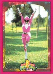 Image detail for -Kimberly, the Pink Ranger, prepares to ascend to her Power Zord in ...