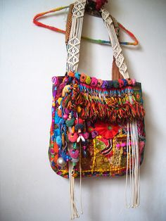 RESERVED  Bohemian Gypsy Vintage Patchwork Tote bag