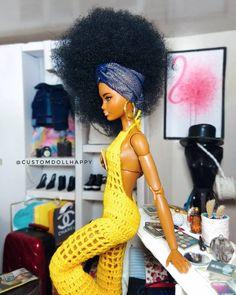 Beautiful Barbie Dolls, Vintage Barbie Dolls, Pretty Dolls, Barbie Life, Barbie World, Barbie Fashionista Dolls, African American Dolls, Barbie Accessories, Barbie Collection