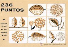 Puntos bordado mexicano - Imagui