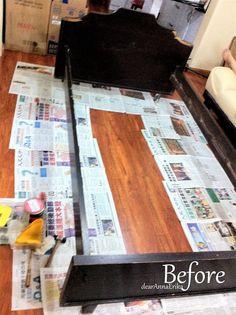 DIY – Repaint Bed Frames