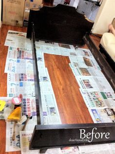 DIY – Repaint Bed Frames