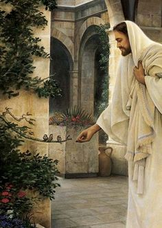 Greg Olsen Painting ~ In His Constant Care~ Dear Most Loving Heart of Jesus, please bring Donna health in body mind and spirit. Amen