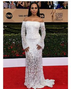 #KerryWashington's #BridalInspiration is timeless! Dress @Roberto_Cavalli #WeddingDigest #WeddingDigestNaija