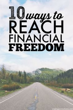 Here are my 10 favorite blog posts that I've written that will help you reach financial freedom. Financial freedom can allow you to follow your dreams!