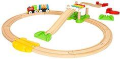 ⭐ [미국 아마존] 브리오 초보자 비기너 팩 33727, BRIO My First Railway Beginner Pack Train Set