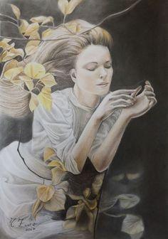 Catawiki, pagina di aste on line  Tiziana Zimbalatti - La dolcezza del pensiero
