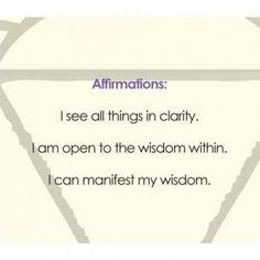 .6. Ajna Chakra : Third Eye Chakra ~ Third-eye Chakra Affirmation