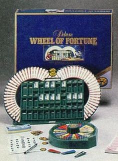 My mom was on Wheel in 1988. She won two days, this was one of the parting gifts.