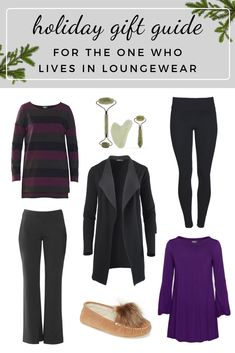 Sustainable fashion holiday gift guide, for the one who loves cozy winters. If you're looking for ethical and locally-made gifts for all the amazing ladies in your life, look no further. Our unbelievably comfortable, quality clothing is designed for women, by women, with eco-luxe fabrics that last. #giftguide #holidaygiftguide #sustainablefashion #ethicalclothing #bambooclothing Sustainable Clothing, Sustainable Fashion, Holiday Gift Guide, Holiday Gifts, Ethical Clothing, Basic Tops, Holiday Fashion, Slow Fashion, Loungewear