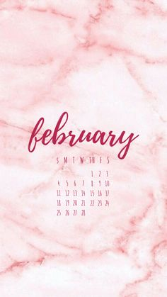 February 2018 Phone Wallpaper, February 2018 Calendar Wallpaper, February 2018 Calendar, February Screensaver, FebruaryBackground, Valentine's Day Background, Valentine's day Wallpaper