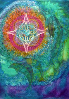 Dolphin Maya Calendar Manik by ShimaArt (for Isabelle Bordelais) z-f, z-co, f-co, +u