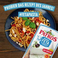 Lunch Recipes, Vegetarian Recipes, Cooking Recipes, Healthy Recipes, Feta Pasta, Salty Foods, Food Hacks, Food Videos, Main Dishes