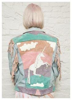 ha ha, yes please! Fun unicorn jacket