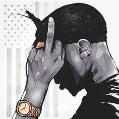 Revolutionary Tupac #AllEyesonMe