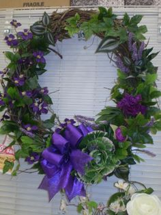 Spring Wreath Sherrie 2014