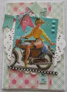 lovin' these vintage inspired cards ~ way too cute!!