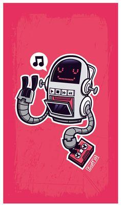 Robot Tapes by cronobreaker on deviantART