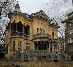 The most beautiful house and the most abandoned one in Sofia