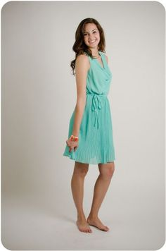 Yumi cowl neck dress