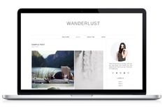 Responsive WP Theme - Wanderlust by Light Morango on Creative Market