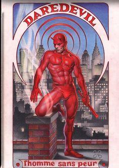 Daredevil by Craig Hamilton #ComicArt