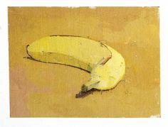 Euan Uglow, banana