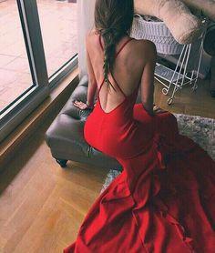 Backless Prom Dress Red Prom Dress Mermaid Prom Dress Fashion Prom Dress Sexy Party Dress New Style Evening Dress Backless Prom Dresses, Mermaid Prom Dresses, Dance Dresses, Homecoming Dresses, Sexy Dresses, Evening Dresses, Fashion Dresses, Women's Fashion, Midi Dresses