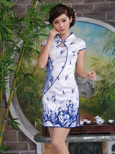 Traditional Cheongsam | chinese traditional clothing dress cheongsam #Cheongsam #fashion