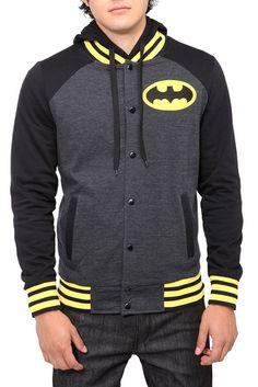 Sudadera deportiva a la Batman