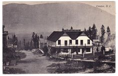 BC – CRESTON, Creston Hotel c.1910 PPC
