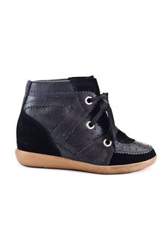 New Leather Sneakers negro.  http://www.fashion-pills.com/new-leather-sneakers-negro.html#