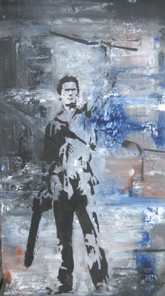 ash army of darkness painting