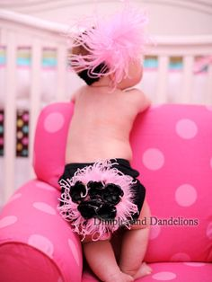 Marabou Flower Bloomers ~ love!
