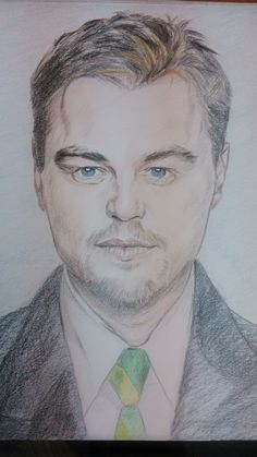 Portrait of Leonardo DiCaprio