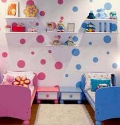 1000 images about boy girl room share on pinterest for Childrens unisex bedroom ideas
