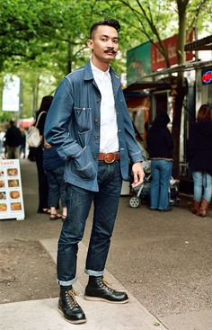portland_street_style_denim_shirt  marrowmag.com