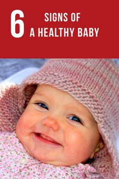 Signs of a healthy and happy baby