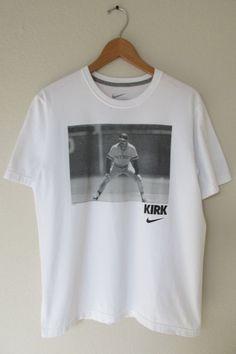 Kirk Gibson Throwback T-Shirt Nike Vintage Detroit Tigers Retro T-Shirt Sz L #Nike #TShirt