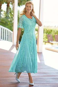 Sheath/Column V-neck Ankle-length Lace Mother of the Bride Dress