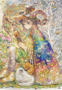images like anime girls Anime Art Girl, Manga Art, Manga Anime, Art And Illustration, Character Art, Character Design, Fantasy Kunst, Fantastic Art, Anime Style
