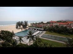 ▶ [베트남 여행] Pullman Danang Beach Resort / 풀만 다낭비치 리조트 / 하나투어 스티커 - YouTube