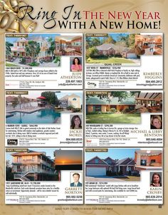 Ring in the New Year with a New Home! There are amazing listings featured on our New Years page that can be yours for the new year!