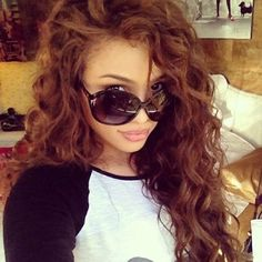 Would like to get my hair like this ~ loose perm x ❤