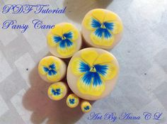Pansy Cane Tutorial