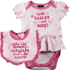 c3e683d0a87 Eagles Pink Onesie Dress #baby #infant #eagles #Philadelphia What Baby  Needs,